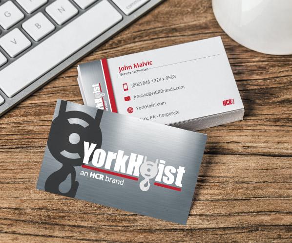 yorkhoist business card