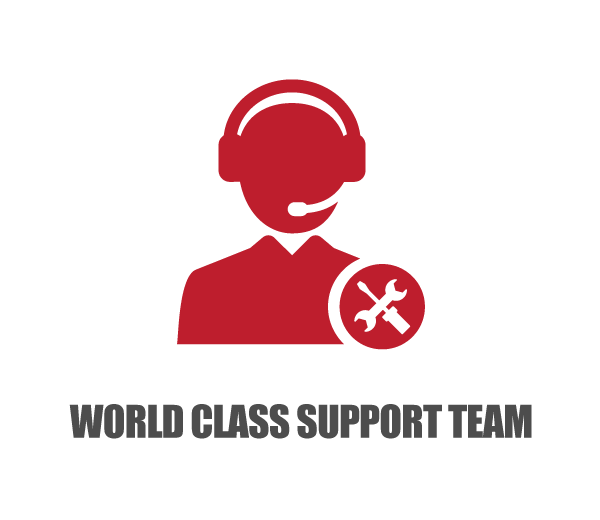 world class support team
