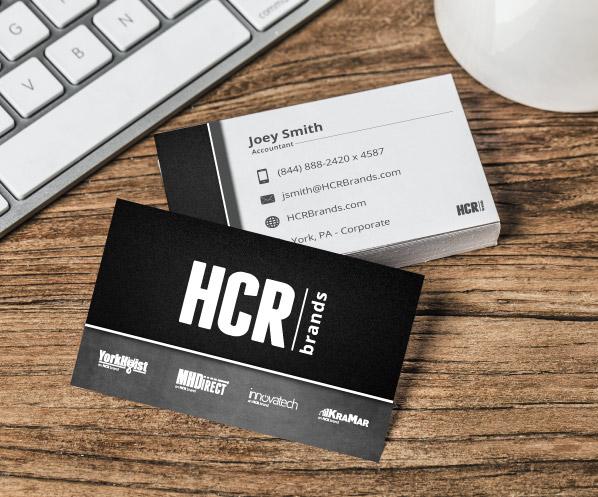 hcrbrands business card