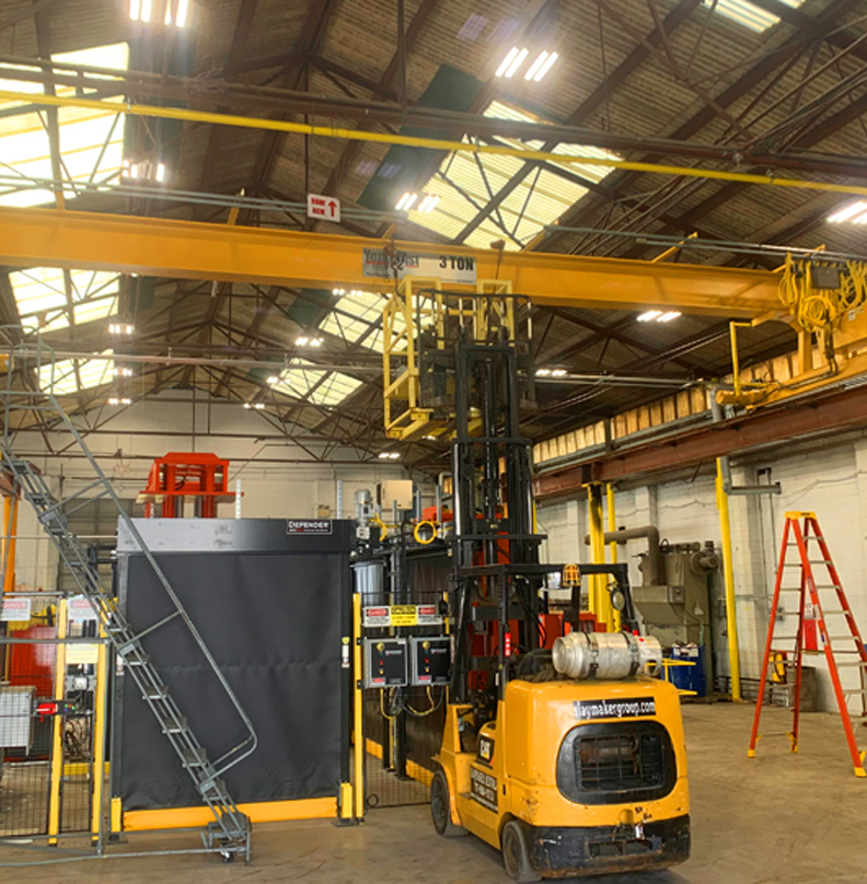Crane System Modernization Project At A Customer Facility