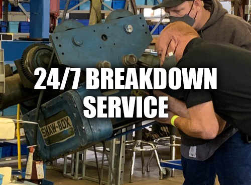 crane and hoist breakdown service