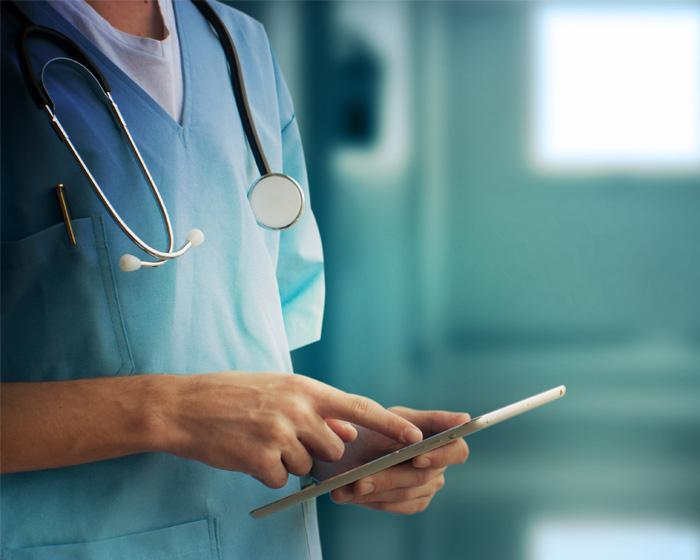 Nurse Or Doctor At A Healthcare Facility