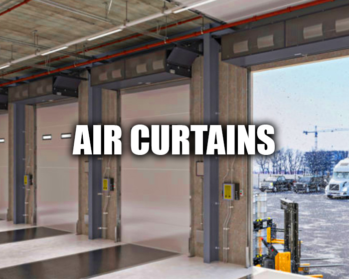 Air Curtains In An Industrial Environment