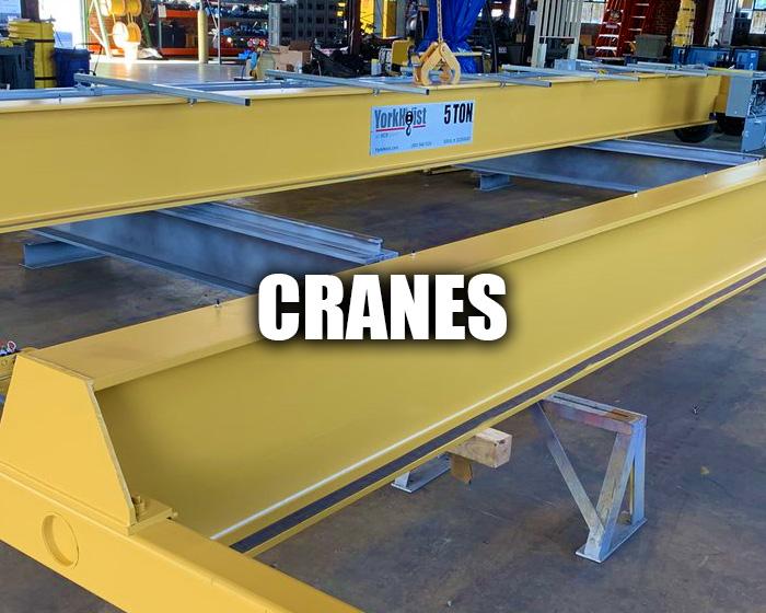 Yorkhoist Overhead Crane Being Manufactured