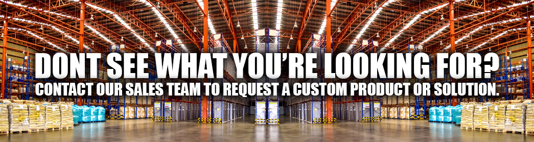 Contact Sales For Custom Products Ad
