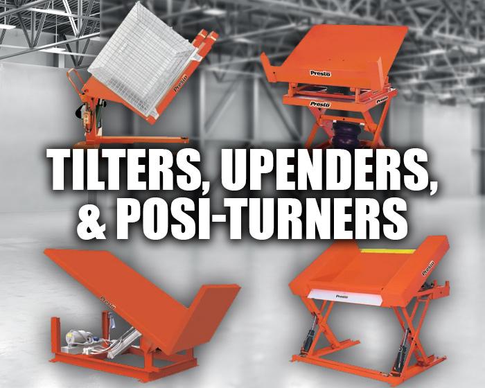 Presto Tilt Tables, Upenders, & Posi-turners
