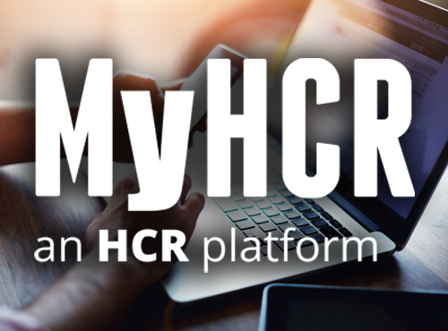 MyHCR Customer Portal Feature