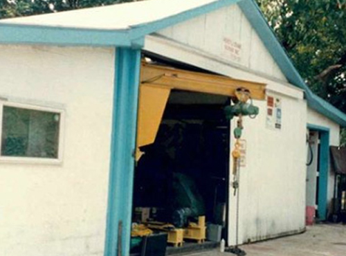Original YorkHoist Manufacturing Facility