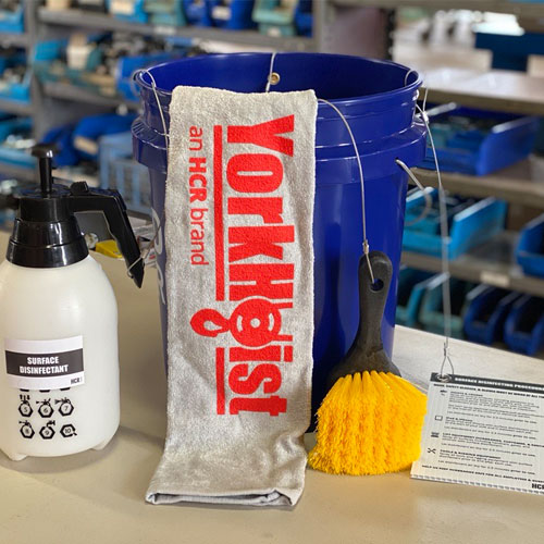 Yorkhoist Sanitizing And Disinfecting Supplies