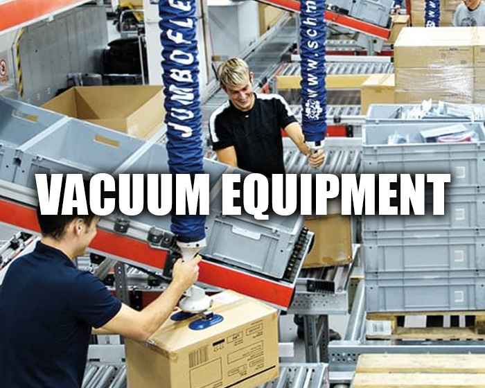 Vacuum Equipment In A Production Line