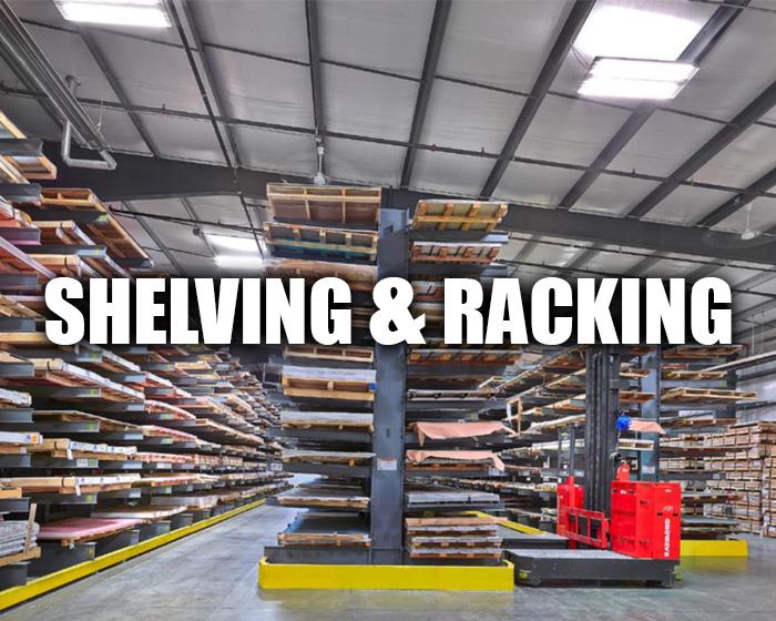 Shelving Installed At A Warehouse