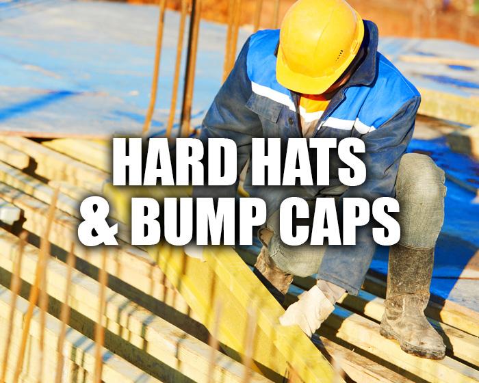 Man Working Outside Wearing A Hard Hat