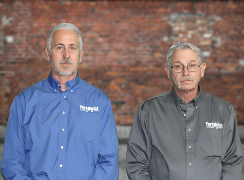 Mark and Kraig May, founders Of YorkHoist