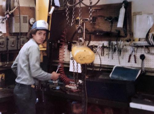 Kraig May Working As A Service Technician