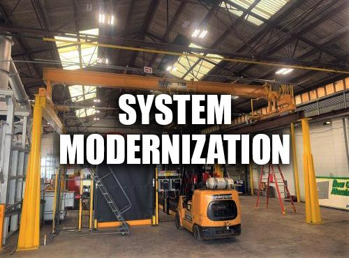 Crane System Modernization At A Customer Facility