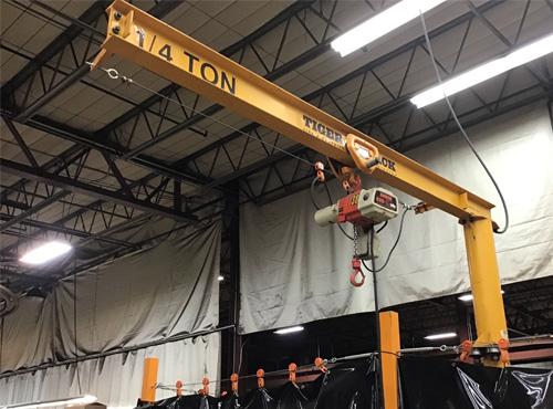 custom jib cranes