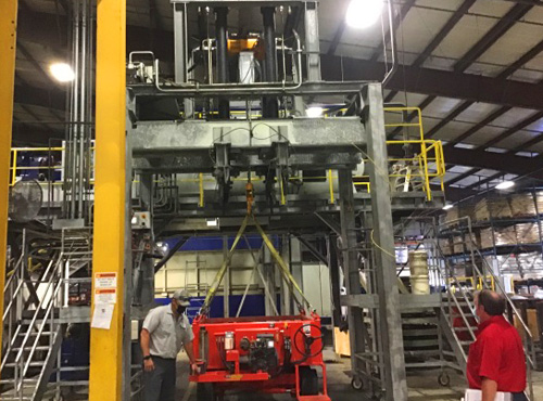 Load Test At A YorkHoist Customer Facility