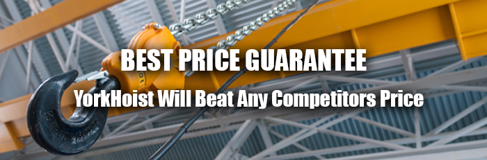 yorkhoist best price guarantee
