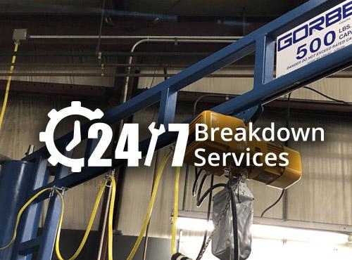 Emergency Crane & Hoist Repair Services